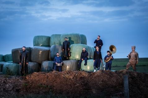 Oerol 2018, Silbersee/Gouden Haas/Slagwerk Den Haag, Aardappelvreters. Photo: Nichon Glerum